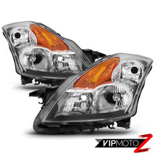 "Fit 07-09 Nissan Altima ""FACTORY STYLE"" Chrome Headlights Replacement Lamps Pair"