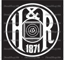 H&R Firearms -  Hunting/Outdoor Sports - Car Vinyl Die-Cut Peel N' Stick Decals