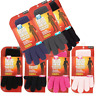 Mens heat Control Thermal Insulated Gloves 2.3 Tog Winter Warmth Womens One Size