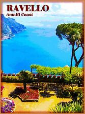 Ravello Amalfi Italy Vintage Italian Europe Travel Advertisement Poster Print
