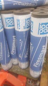 ICOPAL FIRESMART SBS Roofing felt. WHITE MINERAL Solar reflective! NOT TORCH ON