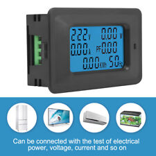 Medidor De Voltaje Eléctrico Digital Consumo Wattmetro Amperometro Voltímetro