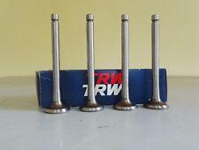 Valvole scarico VW Golf, Derby, Jetta, Polo, TRW 33032(kit 4 pezzi),OE 052109611