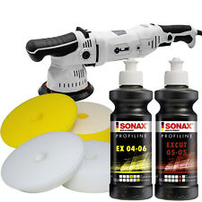 Liquid Elements T2500 Poliermaschine + Sonax Polituren + Craft-Equip Polierpads