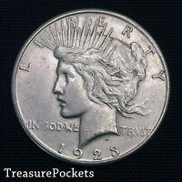 1923-S Peace Silver Dollar ~ Choice/Gem BU Uncirculated