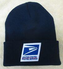 USPS Postal Service Navy Blue Beanie Hat/Cap