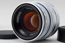 "Leica Summicron 50mm f/2 Limited Lens L39 LTM Screw L Mount ""Mint"" 2724#GC"