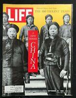 LIFE Magazine Sep 23 1966  CHINA 100 VIOLENT YEARS / Opium War / Boxer Rebellion