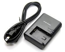 Battery Charger for CANON VIXIA HF M301 VIXIA HF M400 VIXIA HF M406 VIXIA HF S10