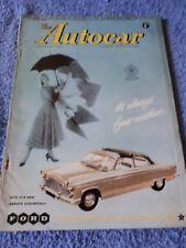 Autocar Magazine 1 June 1956 - The New Zephyr Convertible
