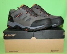 Hi-Tec Bandera Men's Suede Waterproof Trail Hiking Boots CHARCOAL 12D NWT