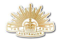 The Australian Army RISING SUN Car Quality Decal Bumper iPad Vinyl Sticker 100mm