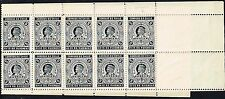 CHILE 1897 OFFICIAL STAMP AVIS DE PAIEMENT # AP1 FULL SHEET look!!