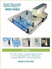 ELNA  eXcellence 730 Sew Steady Ultimate Wish Table Package