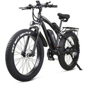 Shengmilo-MX02S Electric Bike 26 Inch Fat Tire 48V 1000W Motor Electric Bicycle