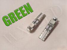 2x T5 3 SMD 1210 LED Gauge Cluster, Key Ring, Sunvisor, Shifter Led Bulb Green**