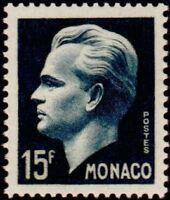 "MONACO N° 367 ""PRINCE RAINIER II 15 F BLEU-NOIR"" NEUF xx  TTB"