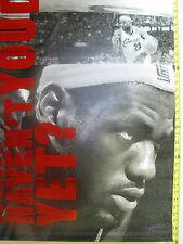 LEBRON JAMES #23 NIKE Vinyl Rafter Banner - Cleveland Cavaliers NBA MINT/RARE