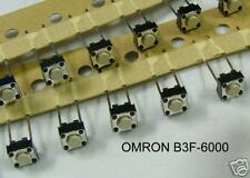 ( 15 PC) OMRON TACTILE PUSH BUTTON SWITCHES P/N B3F6000, NEW