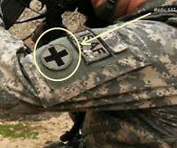 AFG-PAK AFSOC MEDICVAC PEDRO DUSTOFF PARARESCUE  PJ VELCRO INSIGNIA: OD CROSS