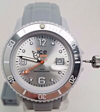Ice Watch Men's SI.SR.U.S.09 Sili Collection Grey Dial Silicone Watch BROKEN!!!