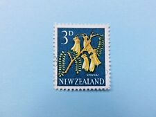 New Zealand 3d Pictorial Stamp of a Flower (Kowhai) circa 1960s