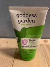 Goddess Garden Organics Facial SPF 30 Natural Sunscreen Lotion 3.4 Ounce