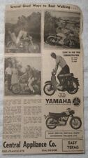 1964 Central Appliance Co. Yamaha Cycles Atlantic City New Jersey Advertisement