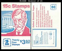 USA3 #1288B MNH BKLT24 Oliver Wendell Holmes
