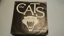 45T THE CATS---LOVE IS A GOLDEN RING----