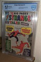 STRANGE TALES ANNUAL #2 *SPIDER-MAN/HUMAN TORCH 1st TEAMUP* LEE/KIRBY Marvel '63