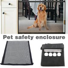 Dog Cat Pet Safety Mesh Gate Safe Guard Fence Barrier Indoor Stair Enclosure Net