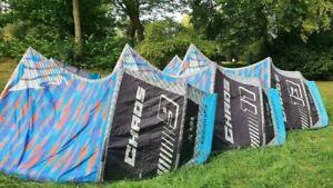 Cabrinha Chaos 2016 Kite Set 9/ 11/ 13 m mit Bar. Ähnlich Cabrinha FX, Core GTS