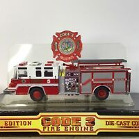 Code 3 Collectibles Virginia Beach Fire Department Engine #5 - 1999 1/64