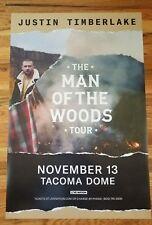 Justin Timberlake @ Tacoma Dome, Wa 2017 24X36 Poster Promo Only!