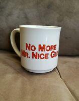 Vintage Sandra Boynton Coffee Mug Cup No More Mister Nice Guy