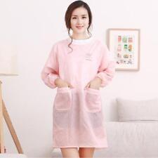 Kitchen Oil-proof Long-sleeved Aprons Men And Women Anti-wear Waterproof Adult