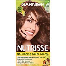 Garnier Nutrisse Nourishing Color 535 Medium Gold Mahogany Brown 1 Each