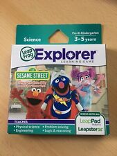 New Leap Frog Leapster Leap Pad Explorer Game Disney Sesame Street 3-5 Yrs
