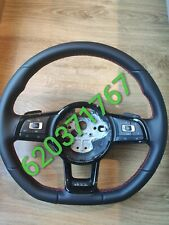 VOLANTE MULTIFUCION VW GOLF 7 VII GTI DSG COSTURAS ROJAS 5G0419091 5G0 419 091