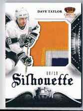 2013-14 CROWN ROYALE DAVE TAYLOR PATCH 3 COLORS 08/10 LOS ANGELES KINGS #S-DT