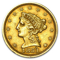$2.50 Liberty Gold Quarter Eagle (Cleaned) - SKU #23222