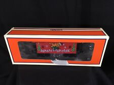 Lionel New Red Caboose w/ box Decorated With Christmas Graffiti