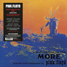 PINK FLOYD MORE SOUNDTRACK OST LP REMASTER ANALOGUE TAPES 180g VINYL 2016 EU New