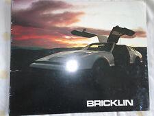 Bricklin brochure 1975 USA market