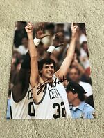 Kevin McHale Boston Celtics Basketball Signed 8.5 By 11 Photo NBA