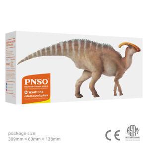PNSO Wyatt the Parasaurolophus Dinosaur Model - BNIB
