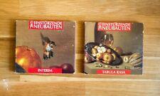 Einsturzende Neubauten - Interim & Tabula Rasa CDs (Lot, Industrial)