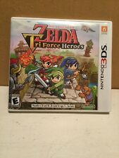 The Legend of Zelda: Tri Force Heroes Nintendo 3DS Game Case Only NO GAME