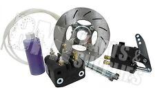 "Light Weight Hydraulic Disc Brake Kit, 1-1/4"" Rear Axle Go Kart Micro Sprint MCP"